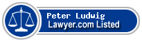 Peter Ludwig Lawyer Badge