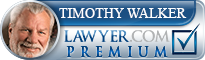 Timothy B. Walker  Lawyer Badge