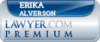 Erika Lynne Alverson  Lawyer Badge