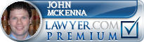 John P. McKenna  Lawyer Badge