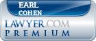 Earl H. Cohen  Lawyer Badge
