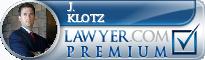 J. Christopher Klotz  Lawyer Badge