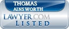 Thomas Ainsworth Lawyer Badge