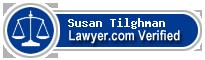 Susan Seidel Tilghman  Lawyer Badge