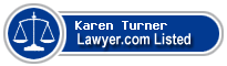 Karen Turner Lawyer Badge