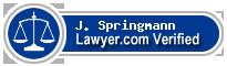 J. Michael Springmann  Lawyer Badge