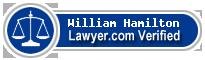 William J. Hamilton  Lawyer Badge