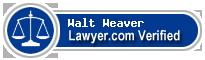 Walt Weaver  Lawyer Badge