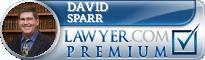 David K. Sparr  Lawyer Badge