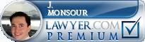 J. Michael Monsour  Lawyer Badge