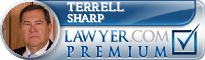 Terrell Lee Sharp  Lawyer Badge