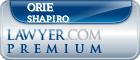 Orie Shapiro  Lawyer Badge
