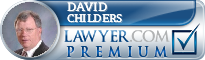 David A. Childers  Lawyer Badge