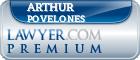 Arthur A. Povelones  Lawyer Badge