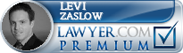 Levi S. Zaslow  Lawyer Badge
