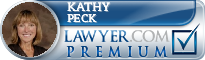 Kathy A. Peck  Lawyer Badge
