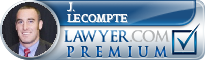J. P. LeCompte  Lawyer Badge