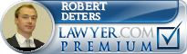 Robert Deters  Lawyer Badge