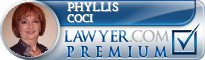 Phyllis C. Coci  Lawyer Badge