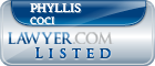 Phyllis Coci Lawyer Badge