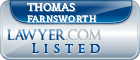 Thomas Farnsworth Lawyer Badge