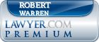 Robert Wrixton Warren  Lawyer Badge