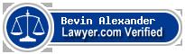 Bevin R. Alexander  Lawyer Badge