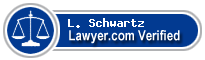 L. B. Schwartz  Lawyer Badge