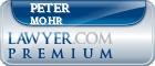 Peter D. Mohr  Lawyer Badge
