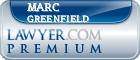 Marc Fredric Greenfield  Lawyer Badge
