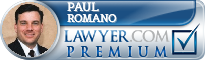 Paul Romano  Lawyer Badge
