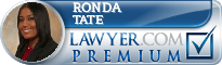 Ronda L. Tate  Lawyer Badge