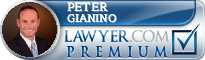 Peter A. Gianino  Lawyer Badge