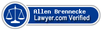 Allen E. Brennecke  Lawyer Badge