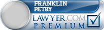 Franklin Petry  Lawyer Badge