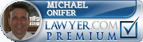 Michael J. Onifer  Lawyer Badge