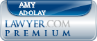 Amy J. Adolay  Lawyer Badge