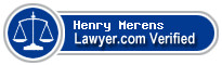 Henry B. Merens  Lawyer Badge