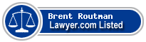 Brent Routman Lawyer Badge