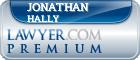 Jonathan D. Hally  Lawyer Badge
