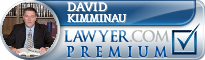 David P Kimminau  Lawyer Badge
