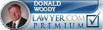 Donald E. Woody  Lawyer Badge
