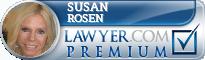 Susan Corner Rosen  Lawyer Badge