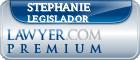Stephanie A. Legislador  Lawyer Badge