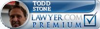 Todd B. Stone  Lawyer Badge