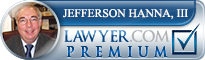 Jefferson Hanna  Lawyer Badge