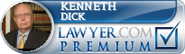 Kenneth E. Dick  Lawyer Badge