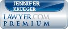 Jennifer M. Krueger  Lawyer Badge