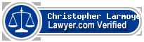 Christopher Larmoyeux  Lawyer Badge