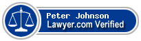 Peter Johnson  Lawyer Badge